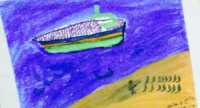 Quelle: Citykirche (Bild: Bootsflüchtlinge malen ihre Flucht)
