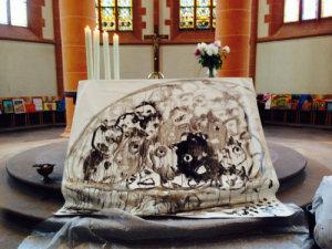 Quelle: Citykirche (Bild: Der Himmel weint über die Opfer der Meere)