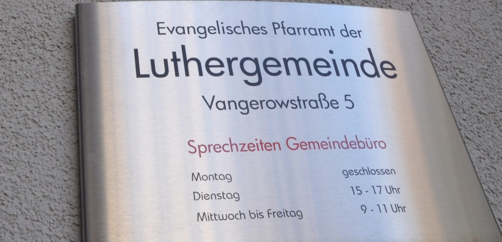 Quelle: Luthergemeinde