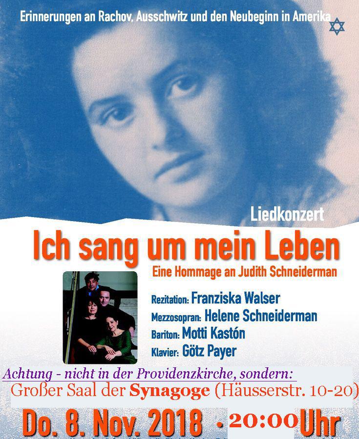 Quelle: Jüdische Gemeinde Heidelberg