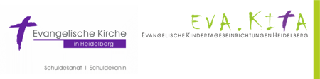 Logos Schuldekanat Heidelberg und Eva.Kita; Quelle: gdw